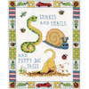 Snakes & Snails Counted Cross Stitch Kit Design Works