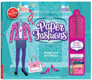 Paper Fashions Craft Activity Book Kit Klutz