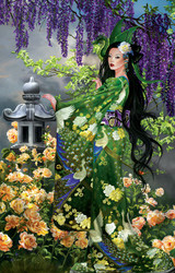 Queen of Jade 1000 Piece Jigsaw Puzzle Nene Thomas Sunsout