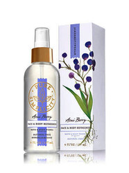 Acai Berry Face & Body Refresher Fragrance Mist Bath and Body Works 6oz