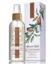 Almond Milk Face & Body Refresher Fragrance Mist Bath and Body Works 6oz