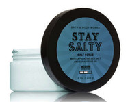 Stay Salty Exfoliating Eucalyptus Body Scrub Bath and Body Works 8oz