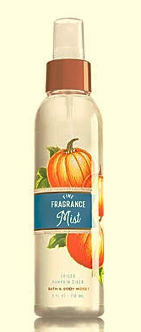 Spiced Pumpkin Cider Fine Fragrance Mist Bath and Body Works 6oz