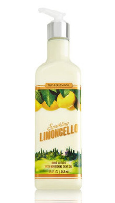 Sparkling Limoncello Luxury Hand Lotion Bath and Body Works 15oz