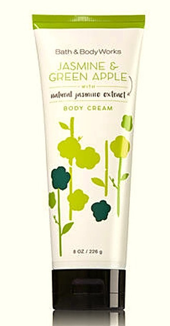 Jasmine & Green Apple Body Cream Bath and Body Works 8oz