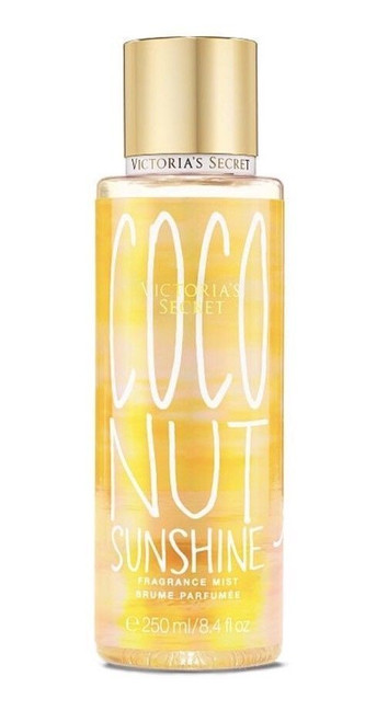 Coconut Sunshine on the Island Summer Vacation Fragrance Mist Victoria's Secret 8.4oz