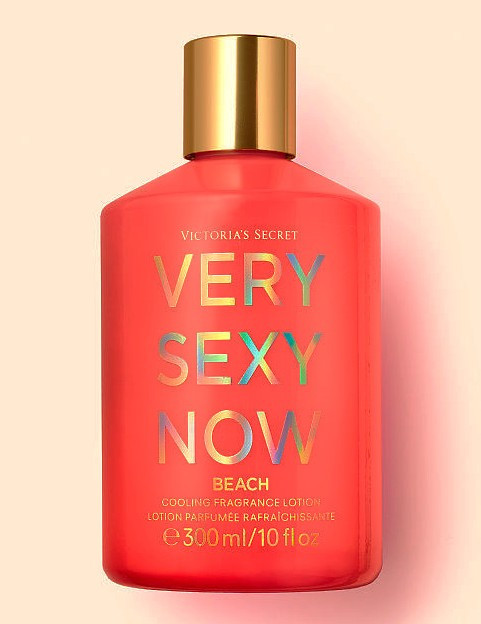 Very Sexy Now Beach Cooling Fragrance Lotion Victoria's Secret 10oz