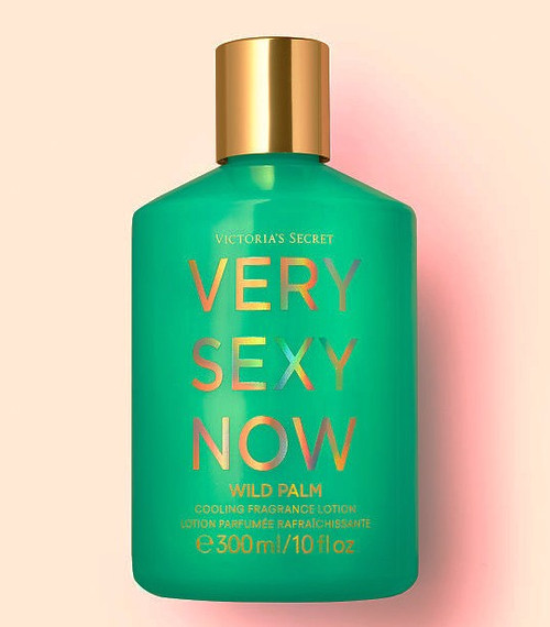 Very Sexy Now Wild Palm Cooling Fragrance Lotion Victoria's Secret 10oz