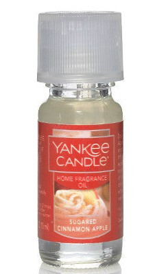 Sugared Cinnamon Apple Home Fragrance Oil Yankee Candle 0.3oz