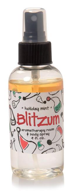 Blitzum Holiday Mint Zum Room Body Mist Indigo Wild 4oz
