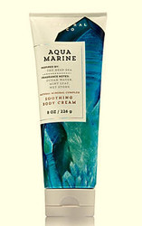 Aquamarine Signature Collection Soothing Body Cream Bath and Body Works 8oz