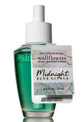 Midnight Blue Citrus Wallflower Fragrance Refill Bulb Bath and Body Works 0.8oz