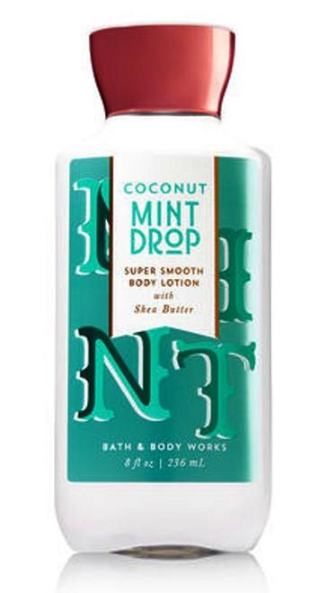 Coconut Mint Drop Body Lotion Bath & Body Works 8oz