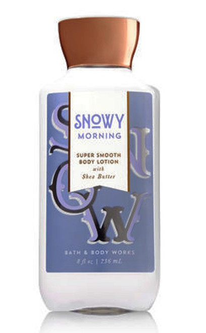 Snowy Morning Body Lotion Bath & Body Works 8oz