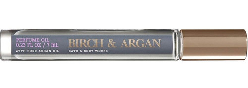 Birch & Argan Perfume Oil Roller Ball Bath and Body Works 0.23oz