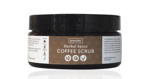 Herbal Spice Coffee Scrub pennyRae