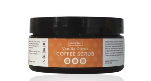 Vanilla Citrus Coffee Scrub pennyRae