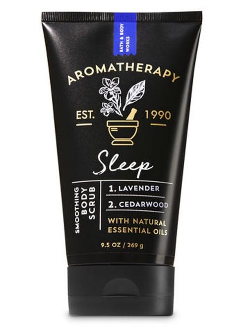 Lavender & Cedarwood Sleep Aromatherapy Smoothing Body Scrub Bath and Body Works 9.5oz