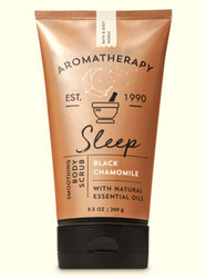 Black Chamomile Sleep Aromatherapy Smoothing Body Scrub Bath and Body Works 9.5oz