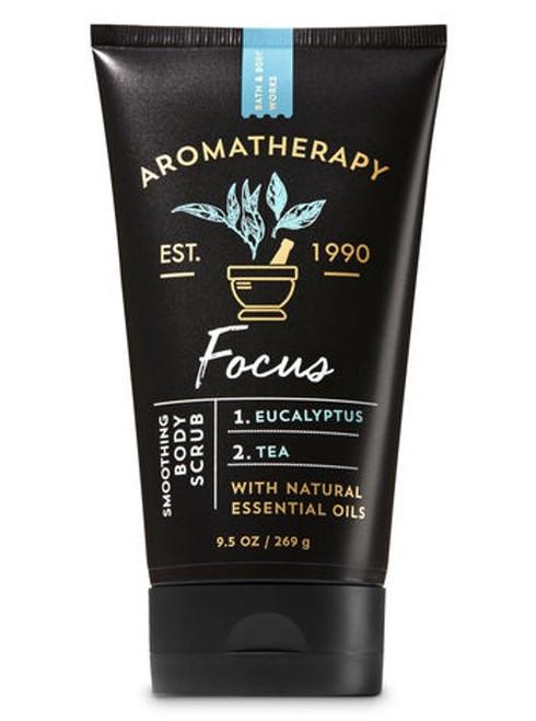 Eucalyptus Tea Focus Aromatherapy Smoothing Body Scrub Bath and Body Works 9.5oz