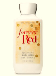 Forever Red Super Smooth Body Lotion Bath and Body Works 8oz
