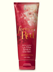 Forever Red Ultra Shea Body Cream Bath and Body Works 8oz