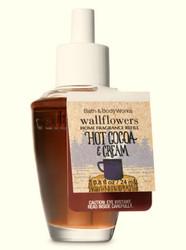Hot Cocoa & Cream Wallflower Fragrance Bulb Bath and Body Works 0.8oz