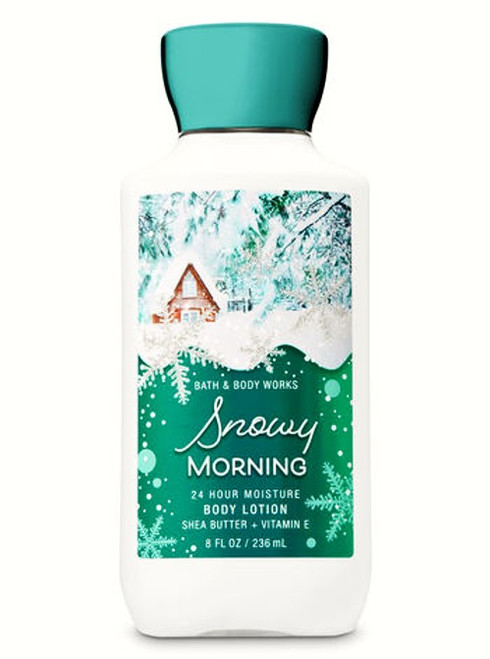 Snowy Morning Holiday Edition Body Lotion Bath & Body Works 8oz