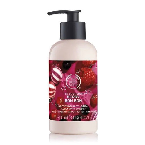 Berry Bon Bon Softening Body Lotion The Body Shop 8.4oz