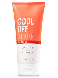 Cool Off Gel Body Lotion Bath and Body Works 6oz