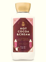 Hot Cocoa & Cream Super Smooth Body Lotion Bath and Body Works 8oz