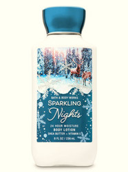 Sparkling Nights Super Smooth Body Lotion Bath and Body Works 8oz