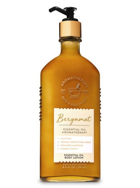 Bergamot Essential Oil Aromatherapy Body Lotion Bath and Body Works 6.5oz