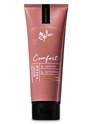 Vanilla Patchouli Comfort Aromatherapy Body Cream Bath and Body Works 8oz