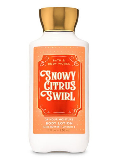 Snowy Citrus Swirl Super Smooth Body Lotion Bath and Body Works 8oz