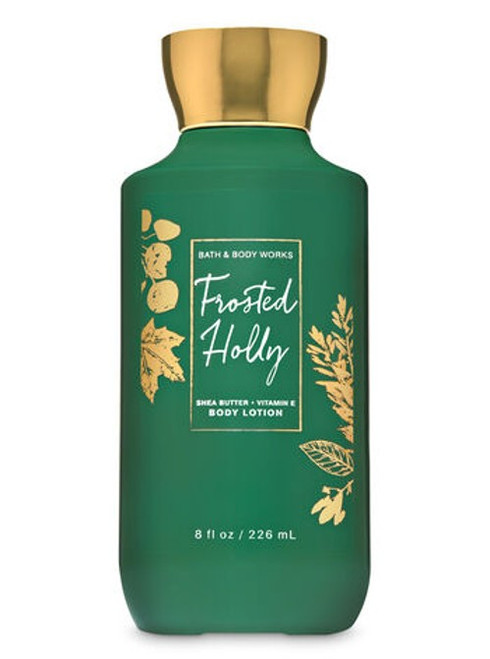 Frosted Holly Super Smooth Body Lotion Bath and Body Works 8oz
