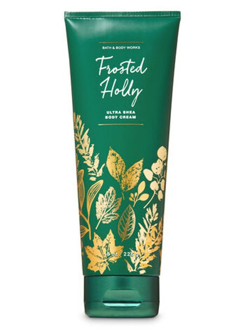 Frosted Holly Ultra Shea Body Cream Bath and Body Works 8oz