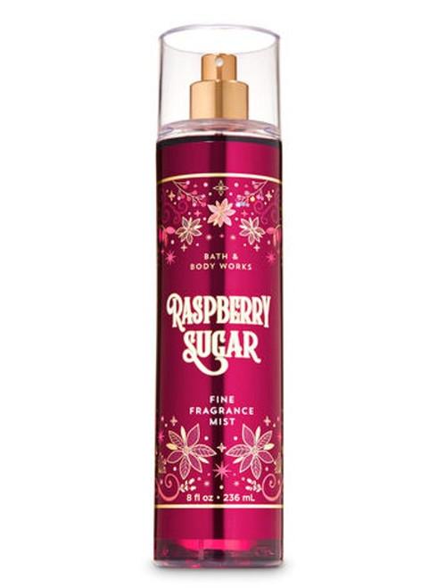 Raspberry Sugar Fine Fragrance Mist Bath and Body Works 8oz