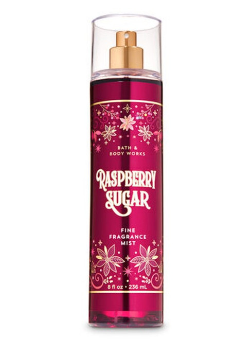 Raspberry Sugar Fine Fragrance Mist Bath and Body Works 8oz