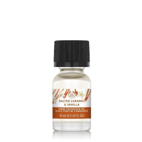 Salted Caramel & Vanilla Home Fragrance Oil The Body Shop 0.34oz