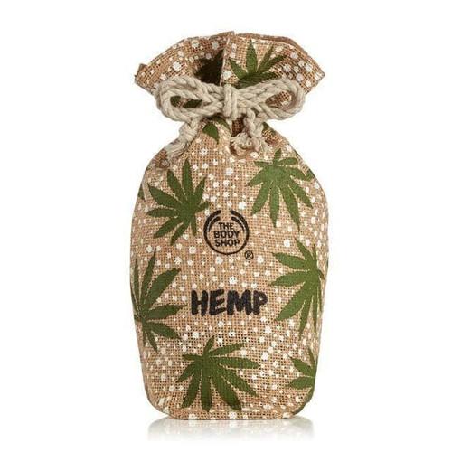 Hemp Drawstring Pouch Bag Tote The Body Shop