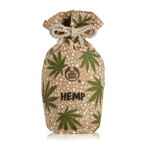 Hemp Drawstring Pouch Bag Tote The Body Shop