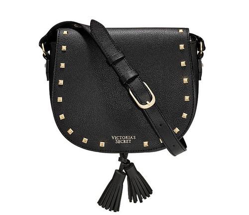 Studded Black Crossbody Clutch Bag Victoria's Secret