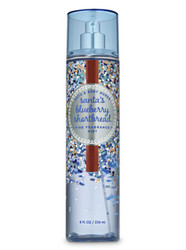 Santa's Blueberry Shortbread Fine Fragrance Mist Bath and Body Works 8oz