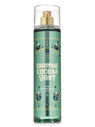 Christmas Cocoa & Mint Fine Fragrance Mist Bath and Body Works 8oz