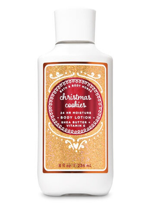 Christmas Cookie Super Smooth Body Lotion Bath and Body Works 8oz