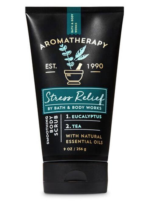 Eucalyptus Tea Stress Relief Aromatherapy Soothing Body Scrub Bath and Body Works 9oz
