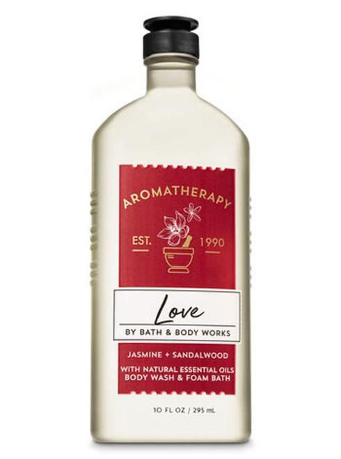 Jasmine Sandalwood Love Aromatherapy Shower Wash Bath Foam Bath and Body Works 10oz