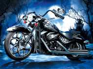 Skeleton Ride 1000 Piece Jigsaw Puzzle Jim Todd Sunsout