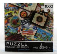 Vintage USA Travel 1000 Piece Jigsaw Puzzle Aimee Stewart